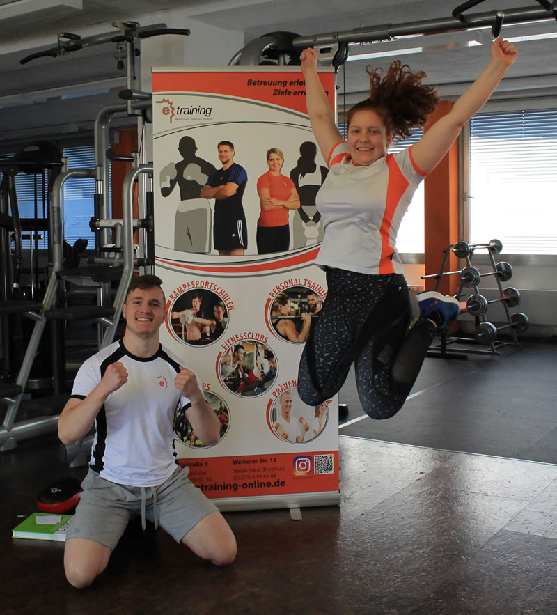 e-training Fitnessclub Kampfsport Personal Training Wieder vor Ort Training