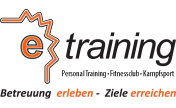 e-training fitnessclub Logo