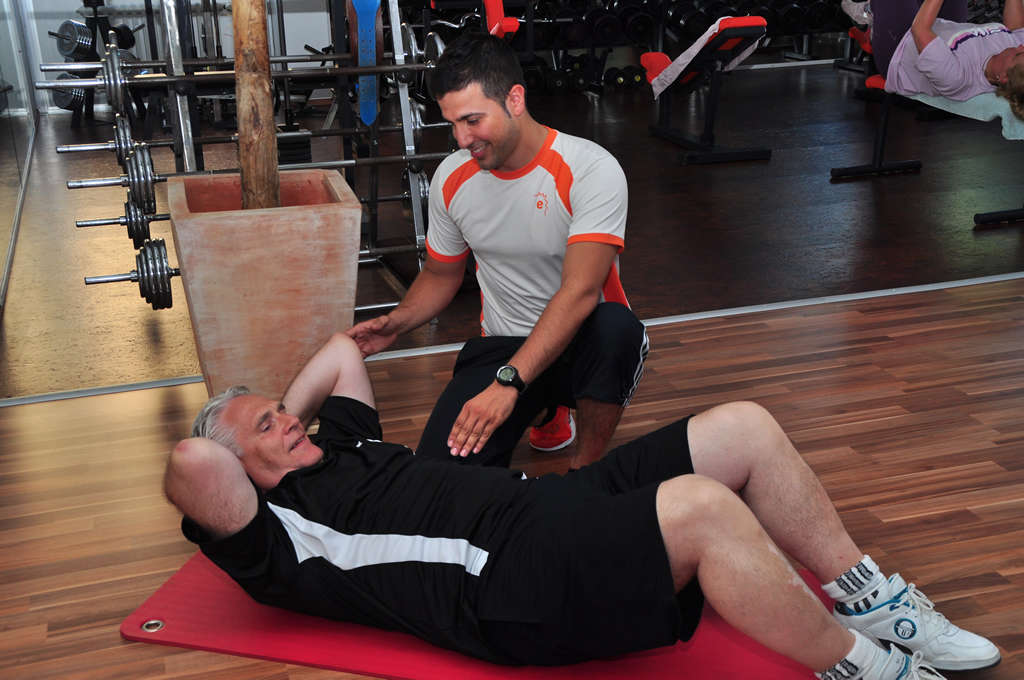 e-training fitnessclub karlsruhe personal training